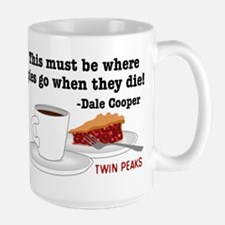 Twin Peaks Pie Quote Mugs