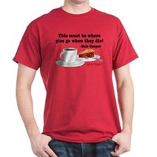 Twin Peaks Pie Quote T-Shirt