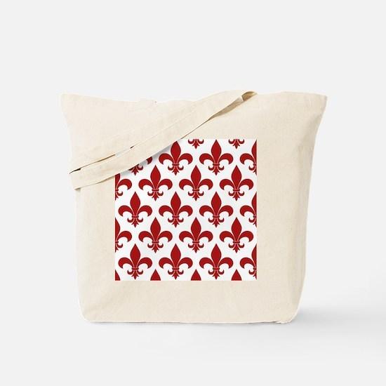 Fleur de lis French Pattern Parisian Design Tote B