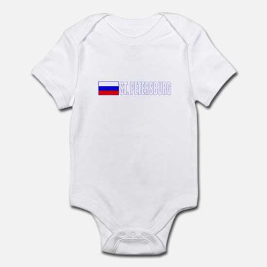 St. Petersburg, Russia Infant Bodysuit