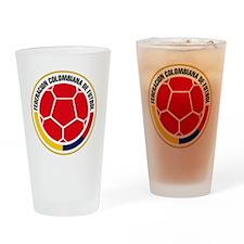Futbol de Colombia Drinking Glass