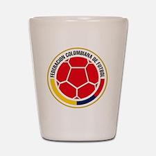 Futbol de Colombia Shot Glass