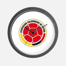 Futbol de Colombia Wall Clock