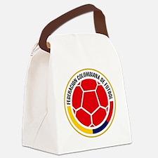 Futbol de Colombia Canvas Lunch Bag