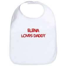 Elena Loves Daddy Bib