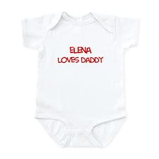 Elena Loves Daddy Infant Bodysuit