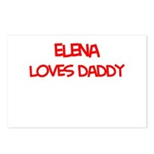 Elena Loves Daddy Postcards (Package of 8)