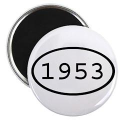 1953 Oval Magnet