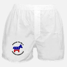 Proud Kansas Democrat Boxer Shorts