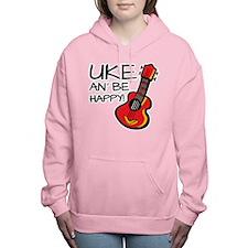 UkeHappyOutline Women's Hooded Sweatshirt