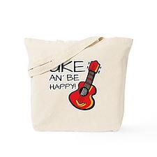 UkeHappyOutline Tote Bag