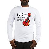 Ukulele Long Sleeve T Shirts