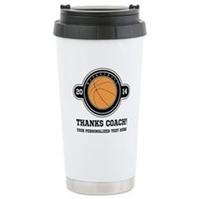 Thank you basketball coach Travel Mug