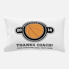 Thank you basketball coach Pillow Case