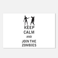 Keep Calm and Join The Zombies Postcards (Package