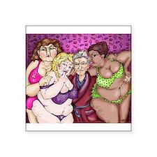 The Real Girls Next Door Sticker