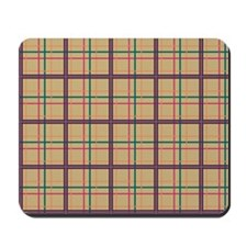 Summer Plaid Mousepad