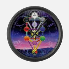 Qabalah Large Wall Clock