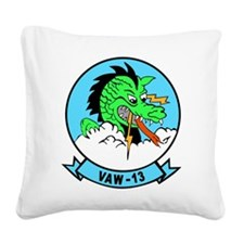 vaw-13.png Square Canvas Pillow