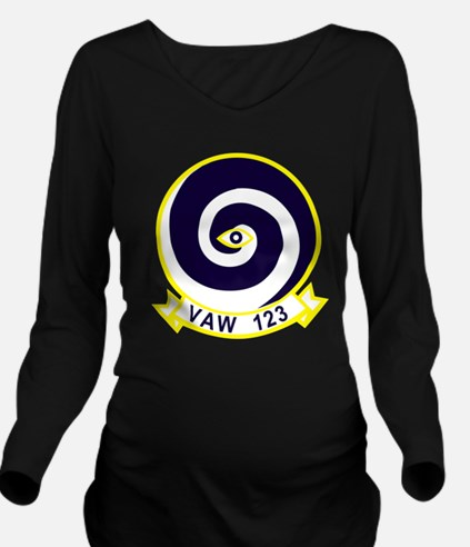 vaw123.png Long Sleeve Maternity T-Shirt