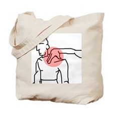 Neck Pinch Tote Bag