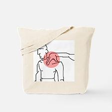 Neck Pinch Tote Bag