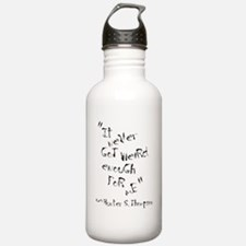 It Never Got Weird Enough For Me Water Bottle
