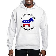 Proud Idaho Democrat Hoodie