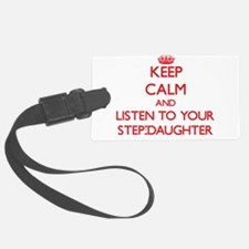 Keep Calm and Listen to your Step-Daughter Luggage