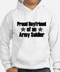 Proud Boyfriend of Army Soldier Hoodie