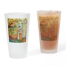 Happiness Drinking Glass