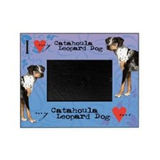 Catahoula Leopard Dog Picture Frame