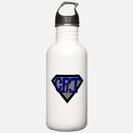 Superhero Technician Water Bottle