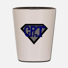Superhero Technician Shot Glass