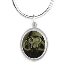 The Fallout Silver Oval Necklace