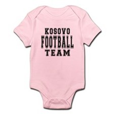 Kosovo Football Team Infant Bodysuit