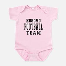 Kosovo Football Team Infant Bodysuit