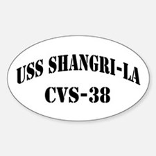 USS SHANGRI-LA Sticker (Oval)