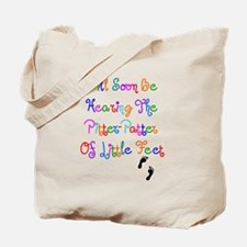 Little Feet Tote Bag