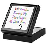 Little Feet Keepsake Box