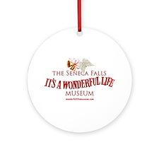 Wonderful Life Museum Ornament (round)
