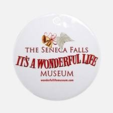 Wonderful Life Museum Ornament (round)