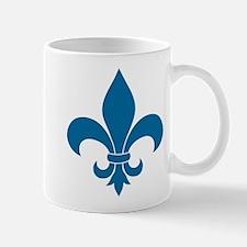 Blue Fleur de lis French Pattern Parisian Design M