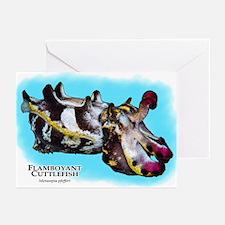 Flamboyant Cuttlefish Greeting Cards (Pk of 10)