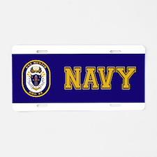 USS Mustin DDG-89 Aluminum License Plate