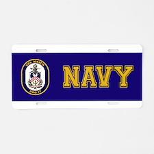 USS Mason DDG-87 Aluminum License Plate