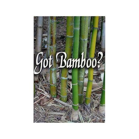 Got Bamboo? Rectangle Magnet