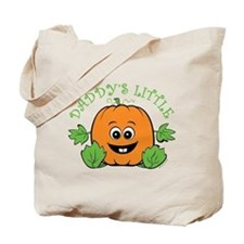 Daddy's Little Pumpkin Tote Bag