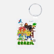Brazil life Keychains