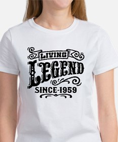 Living Legend Since 1959 Women's T-Shirt